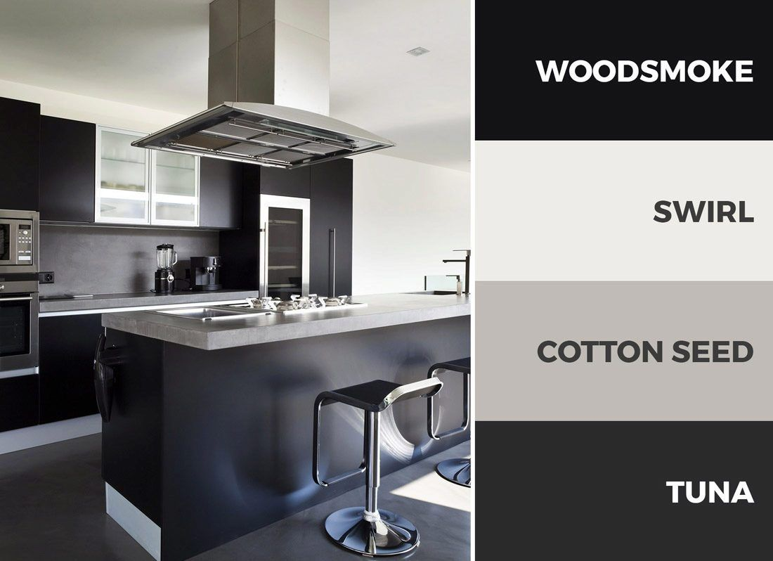 Best An All Black Kitchen Color Scheme Is Bold And 400 x 300