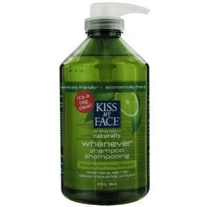 Kiss My Face Whenever Shampoo, Whenever shampoo gently & thoroughly cleanses your hair without stripping or drying & soothes your scalp with pure essential oils & organic herbs