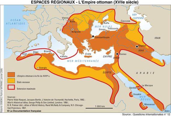 La carte de l empire ottoman tonaartsenfotografie - La carte de l empire ottoman ...