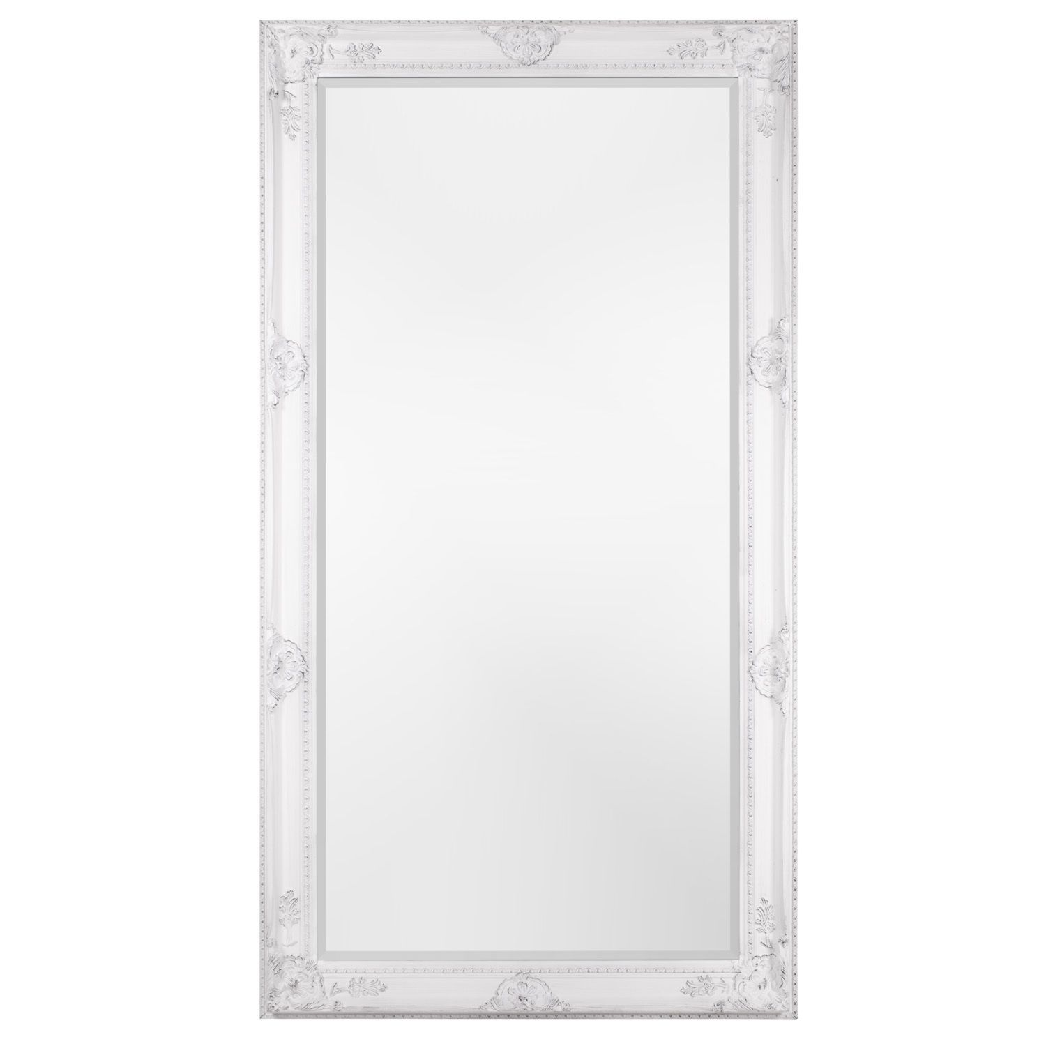 large floor mirror full classic length gold home