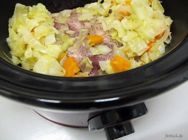 Photo of Hunter cabbage in slow cooker -paleo / lowcarb-