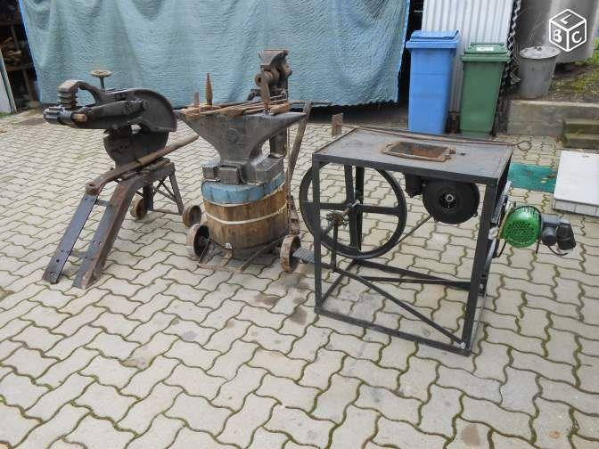 Enclume forge etau cisaille de forgeron bricolage haut rhin forge outillage - Tablier de forgeron ...