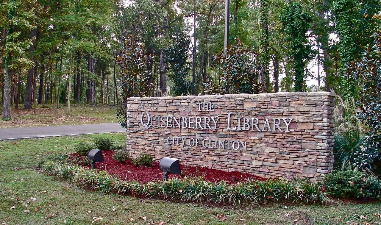 Quisenberry Library, 605 E. Northside Drive, Clinton, MS. 601-924-5684. http://quisenberrylibrary.com/