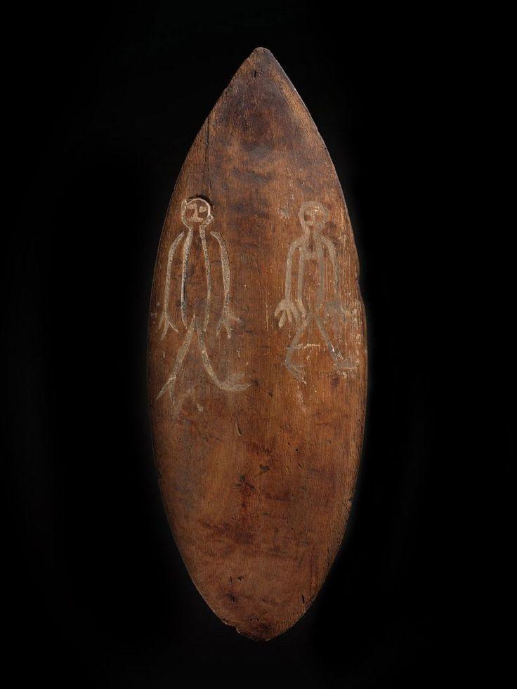Miniature Shaman S Shield Bidayuh Dayak Borneo Small Shields Were Used By Bidayuh Shamans For Rituals Enacted In The Spirit World This Piece Displays Two