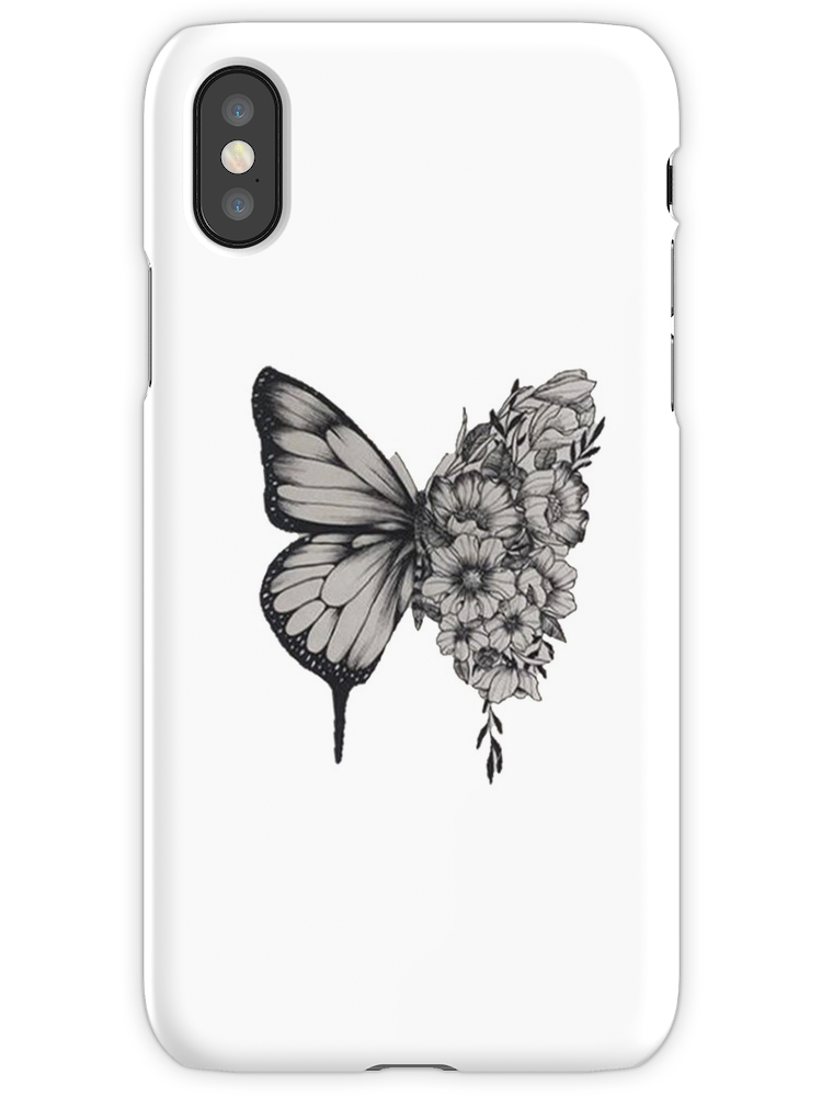 Butterfly Tattoo Shawn Mendes iPhone X Snap Case in 2020
