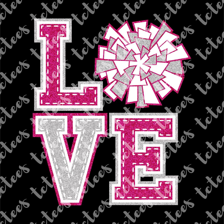 Download Love Cheer - SVG by TCTeeDesigns on Etsy | Digital paper ...