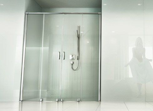 Höchste Qualität auf Schiene Die bodengeführten Duschen mit - schiebetüren für badezimmer