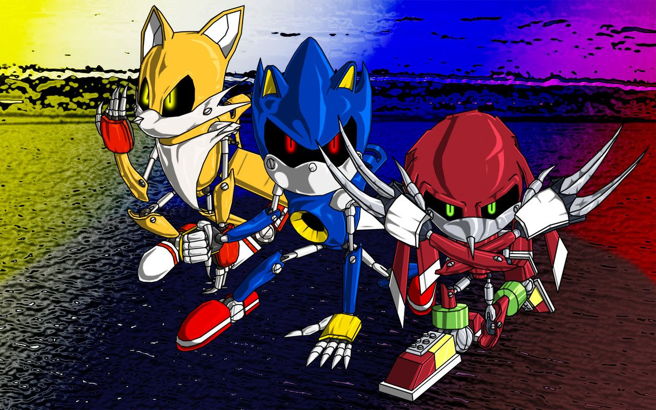 Sonic Team Metallix 2 Team Metal Sonic By Metalic Chaos Dibujos