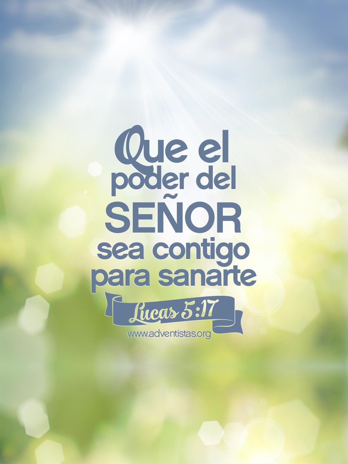 Que Dios te sane, te proteja y te bendiga siempre! En el nombre de ...