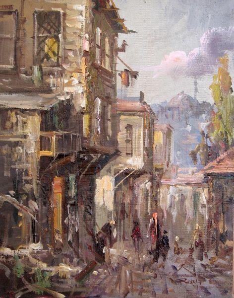 Remzi Taşkıran (1961 -     )   Turkish painter -   Remzi Taskiran