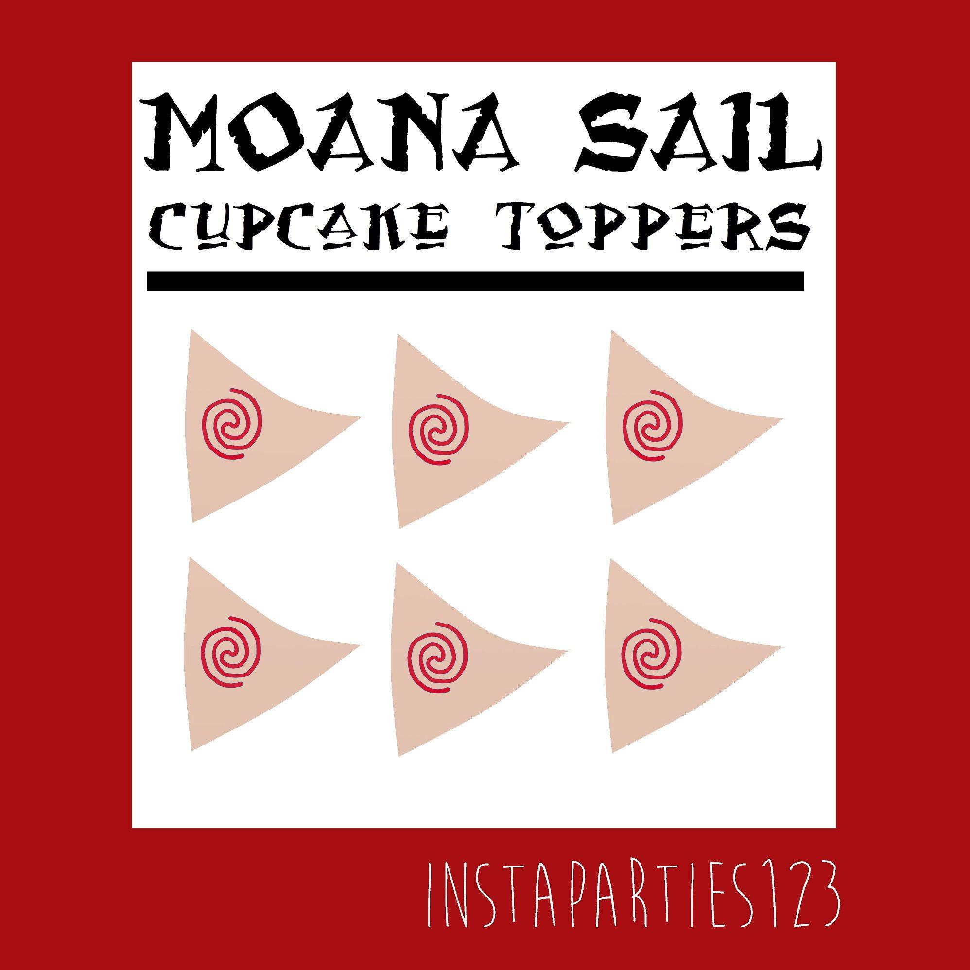 A Personal Favorite From My Etsy Shop Https Www Etsy Com Listing 515478313 Digital Red Swirl Moana Sailboat Cup Moana Moana Party Moana Birthday Party