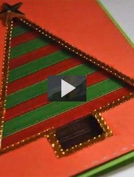 como hacer tarjetas de navidad