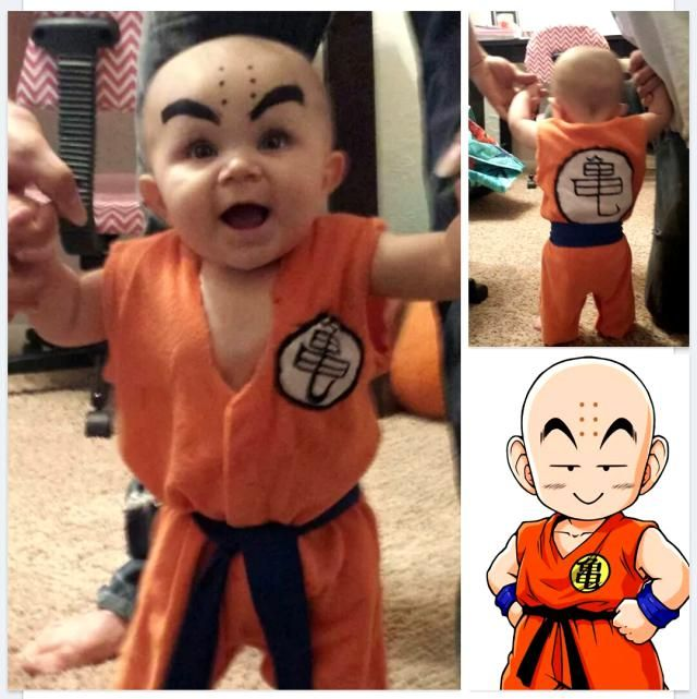 9 Super Cute Kids in Dragon Ball Z Cosplay Krillin  sc 1 st  Pinterest & Anime and Manga | Pinterest | Dragon ball Cosplay and Dragons