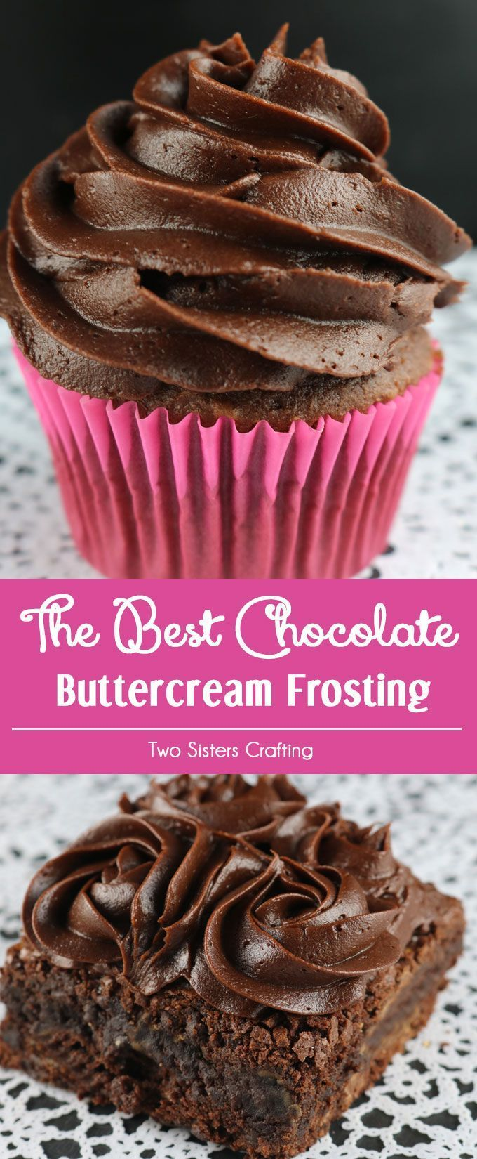 The Best Chocolate Buttercream Frosting Recipe Best Chocolate Buttercream Frosting Frosting Recipes Desserts