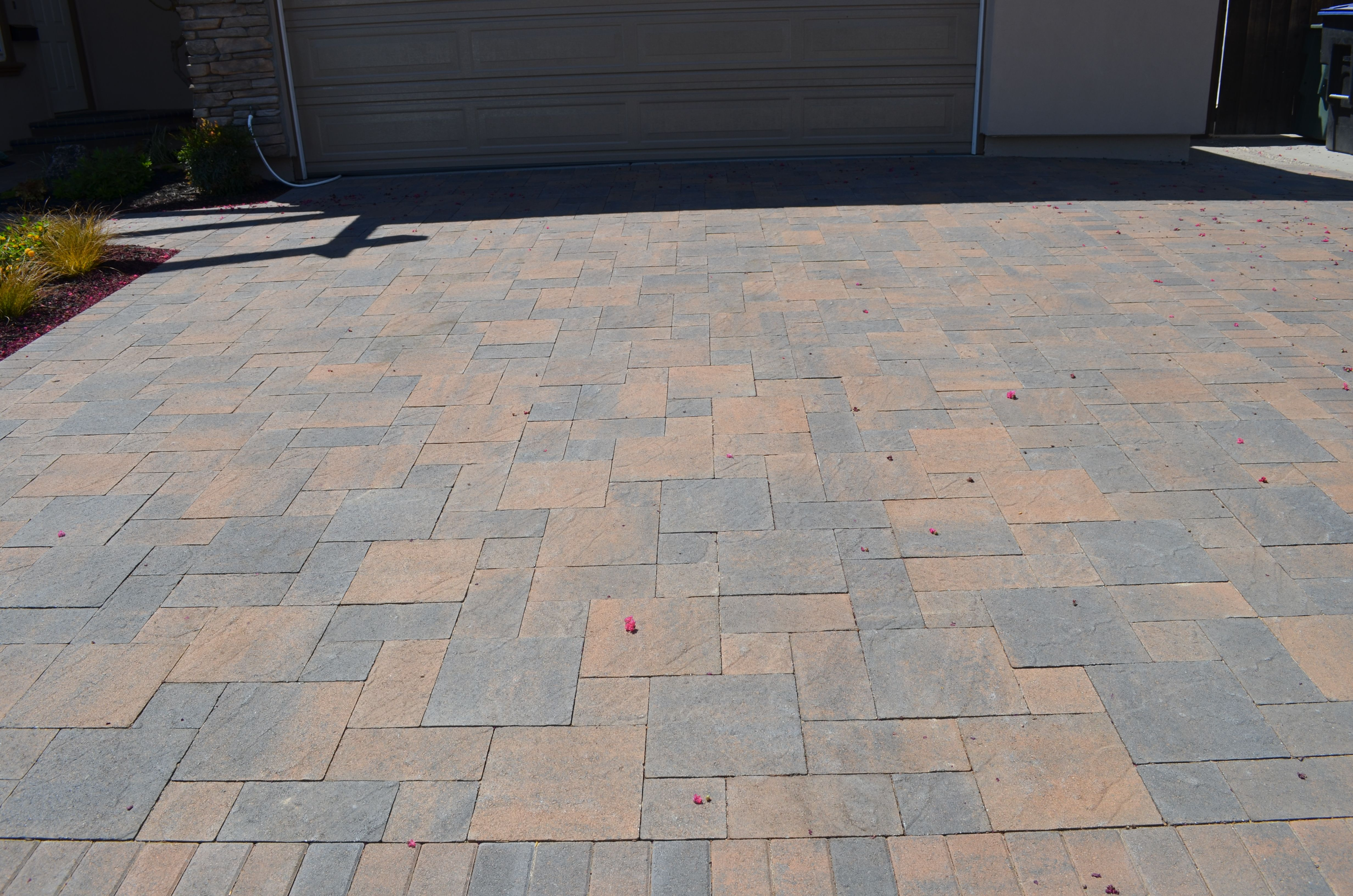 paver driveway (textured estate) | interlocking pavers | pinterest