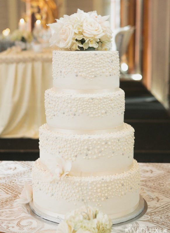elegant wedding cakes with flowers destination island wedding cake with white flowers 13987