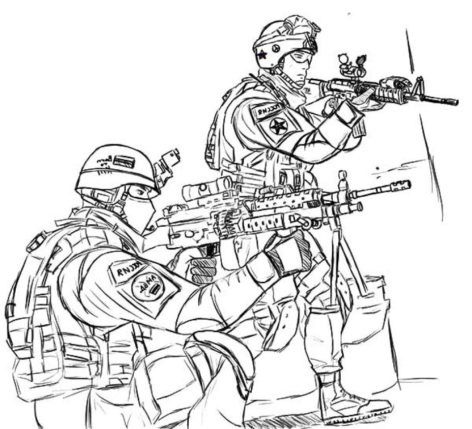 Beautifull Soldier Coloring Pages Image Truck Coloring Pages