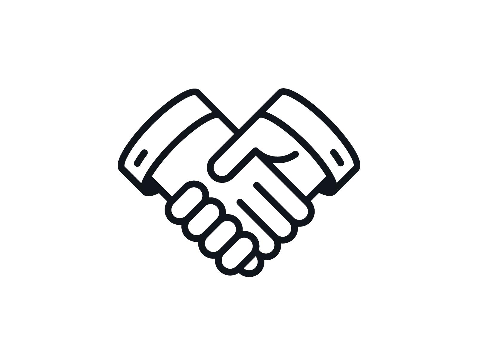 Handshake Icon Icon Handshake Logo Hands Icon