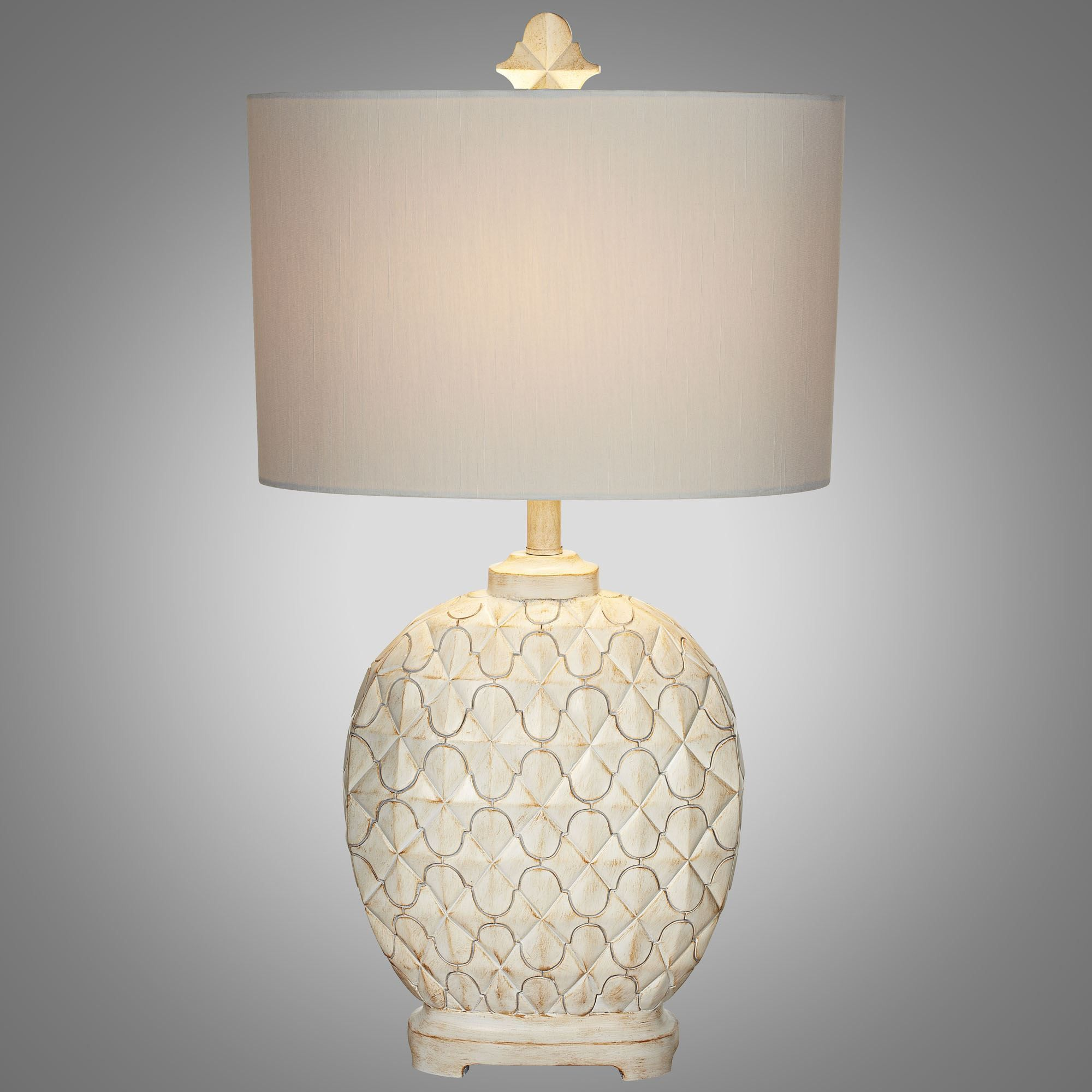 Marrakesh Weave Table Lamp by Kathy Ireland Home Lamp