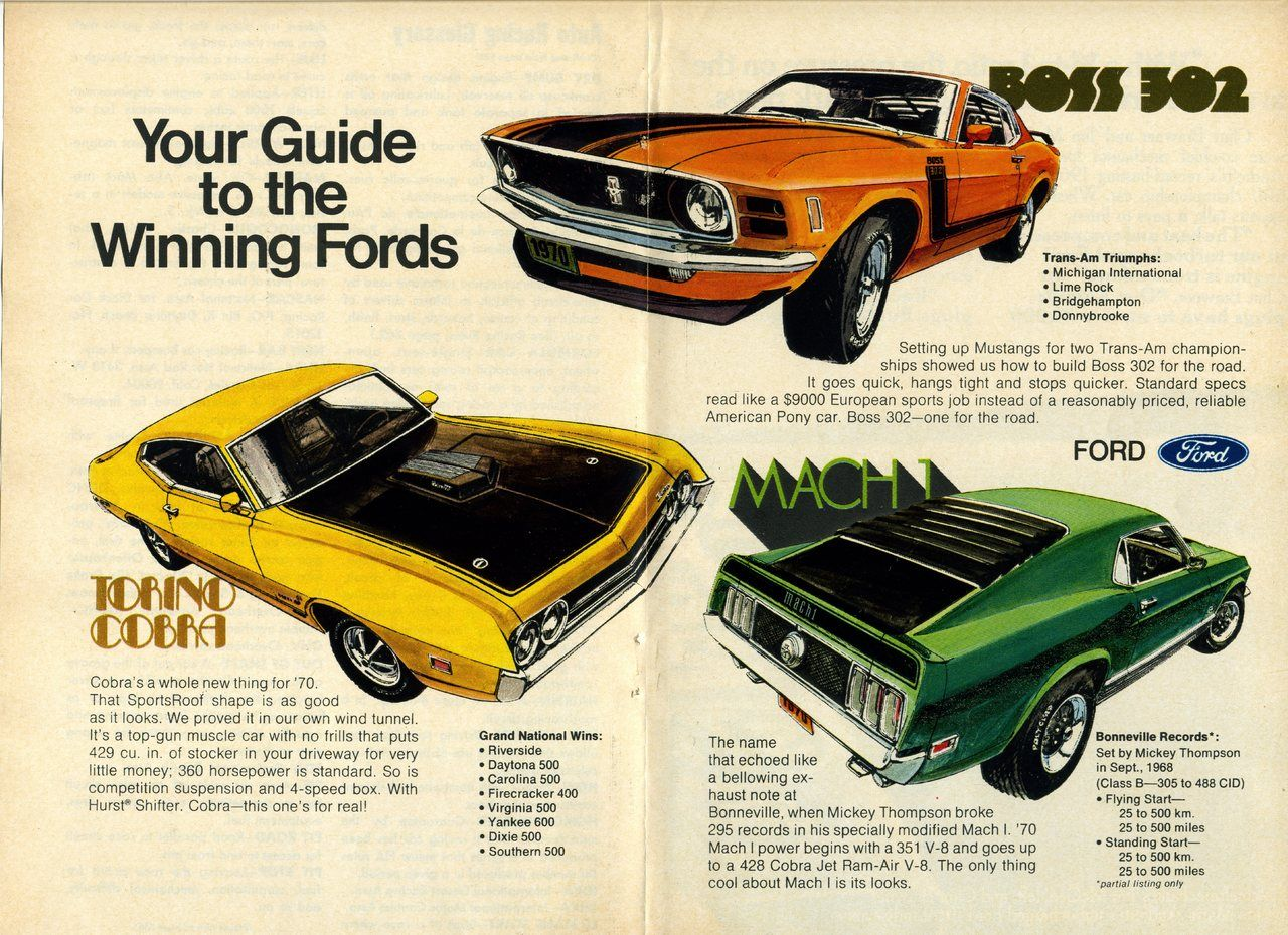 japenese car ads | 1970 Ford Trio Advertit Photo Picture ...