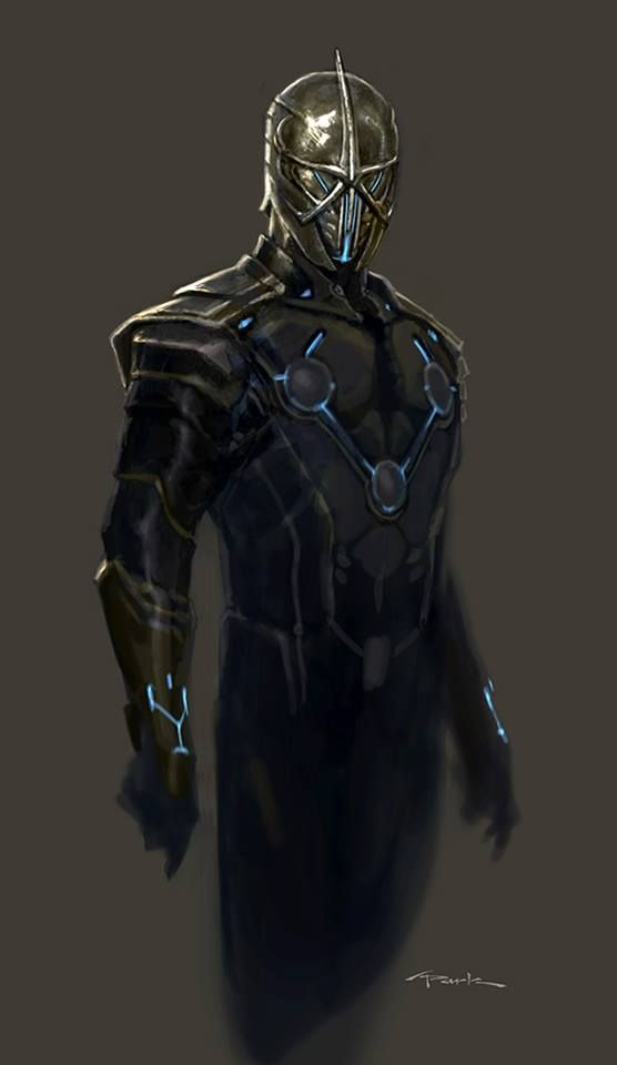 nova corps concept art for guardians of the galaxy comic