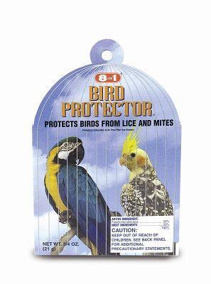 BIRD - HEALTH - BIRD PROTECTOR LG BIRD 3/4OZ - - UPG-COMPANION ANML EDWRDSVILLE - UPC: 26851003106 - DEPT: BIRD PRODUCTS