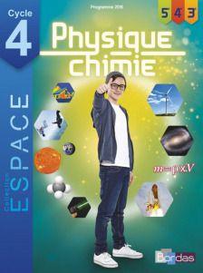 Epingle Par Chouette Y A Plus Ecole Sur Manuels Pour Le College Physique Chimie Chimie Ecole Directe