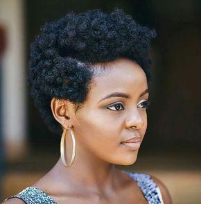 Frisuren afro haare frauen