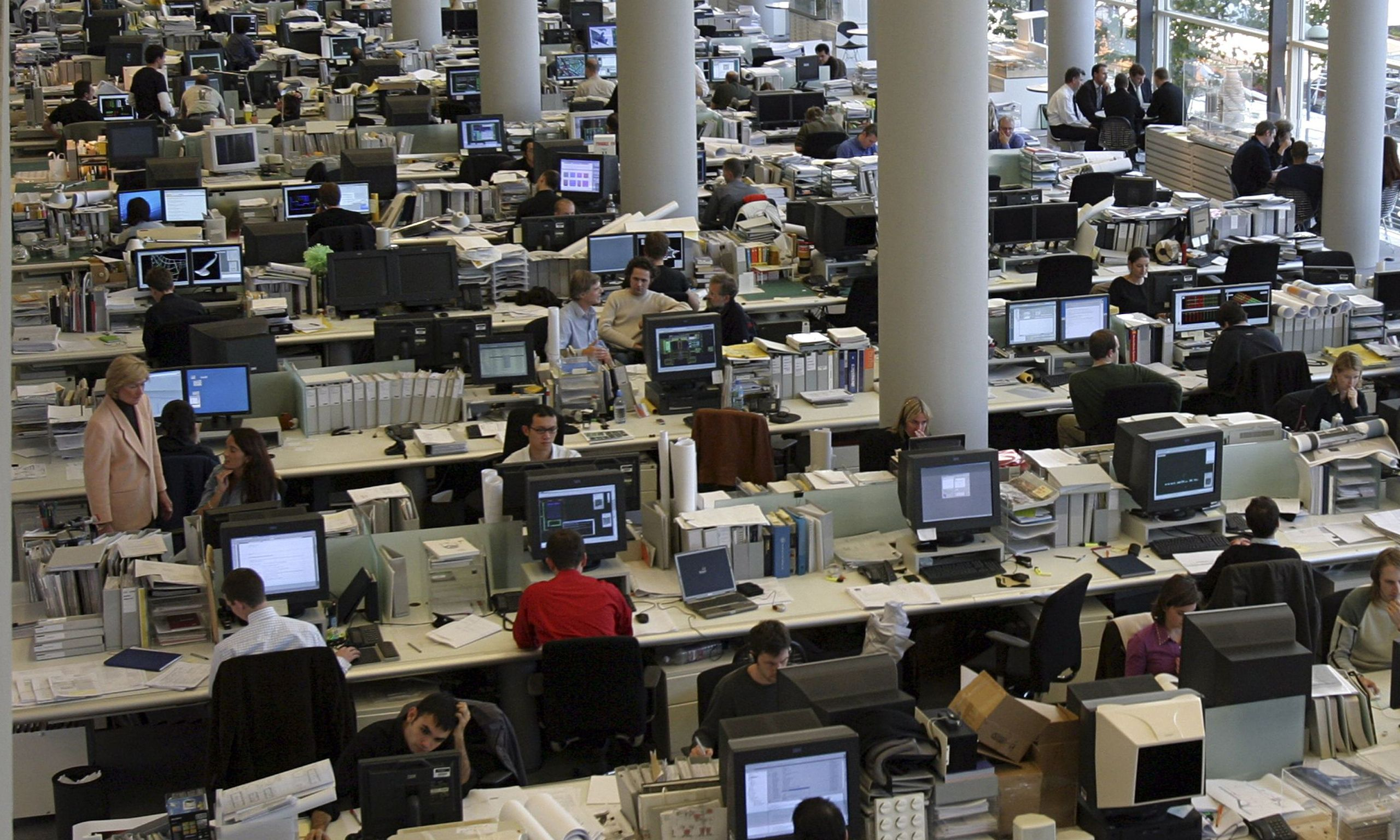 Why The Open Office Makes You Distracted, Exhausted, And
