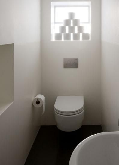 Wall Hung Toilet In Stall With Minimalist Finishes Cloakroom Cool Bathroom Stal Minimalist