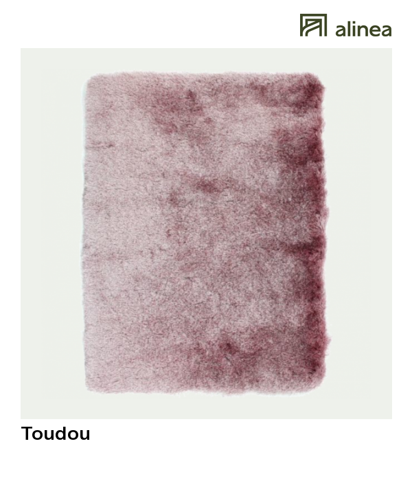 Alinea : Toudou Tapis Rose Poudre (plusieurs Tailles Disponibles) Tapis  Tapis De Décoration Tapis