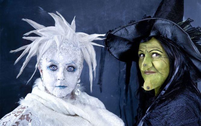 Ijsprinses en heks, met stappenplan