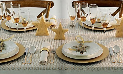 C mo decorar tu mesa de navidad para la cena de - Como decorar la mesa de navidad ...