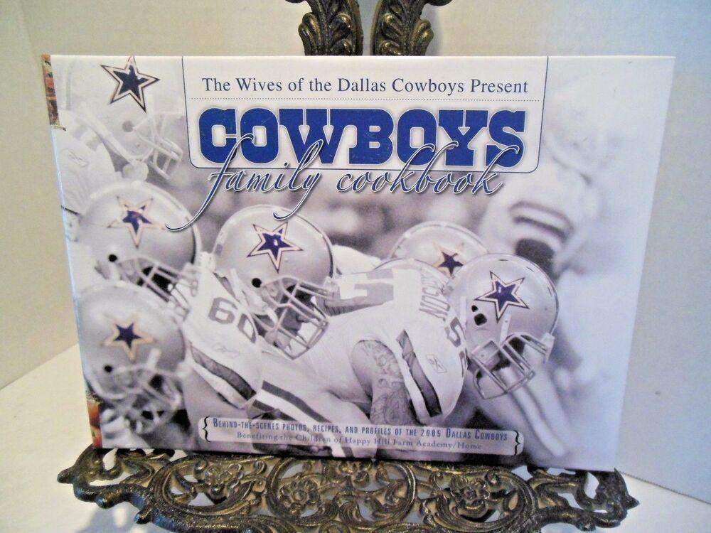 DALLAS COWBOY WIVES FAMILY COOKBOOK NFL Football Team