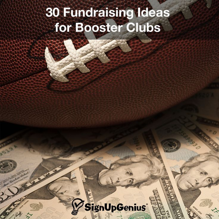 30 Fundraising Ideas for Booster Clubs. Help your youth