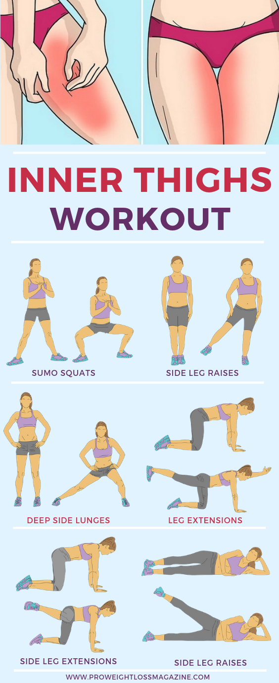 10 Minute Inner Thigh Workout To Try At Home  Pro Weight Loss Magazine