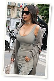 180d45ac36 Kim Kardashian struts in Givenchy sunglasses model GV 7002 S from Safilo  while in Paris. Courtesy of Givenchy