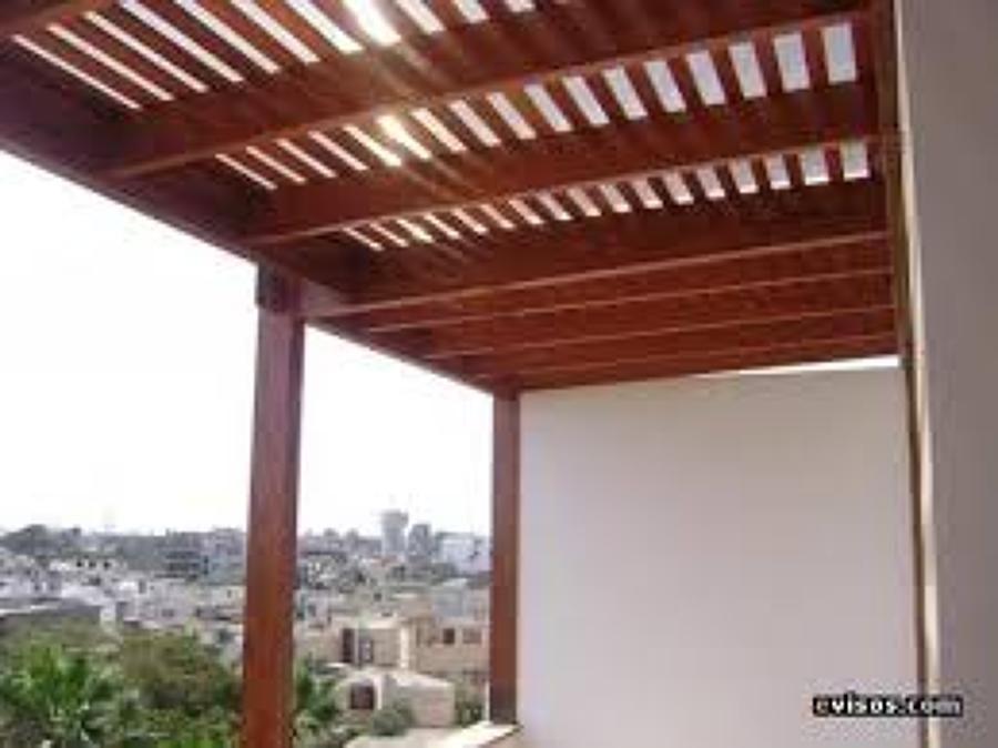 Cobertizos terrazas madera buscar con google ideas for Techos en madera para patios