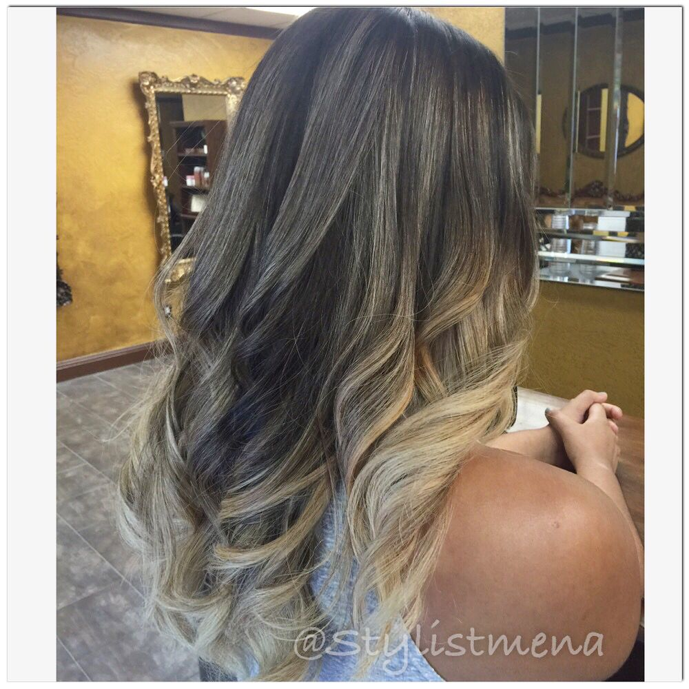 Balayage Ombre Olaplex Corrective Color Fresno Hair Done By Monica Demillan Salon Fresno Ca Instagram Stylist Blonde Color Balayage Color Brunette To Blonde