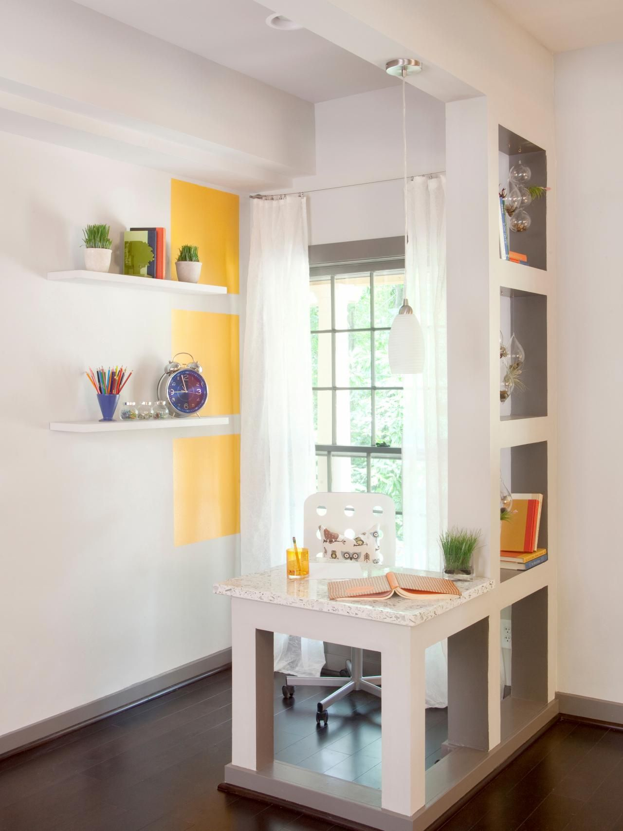 Small Home Office Ideas | Spaces, Room and Hgtv