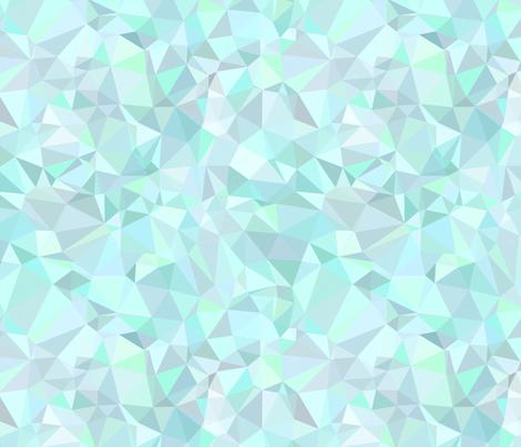 Mint Triangles fabric by kimsa on Spoonflower - custom fabric at $17.50/yd