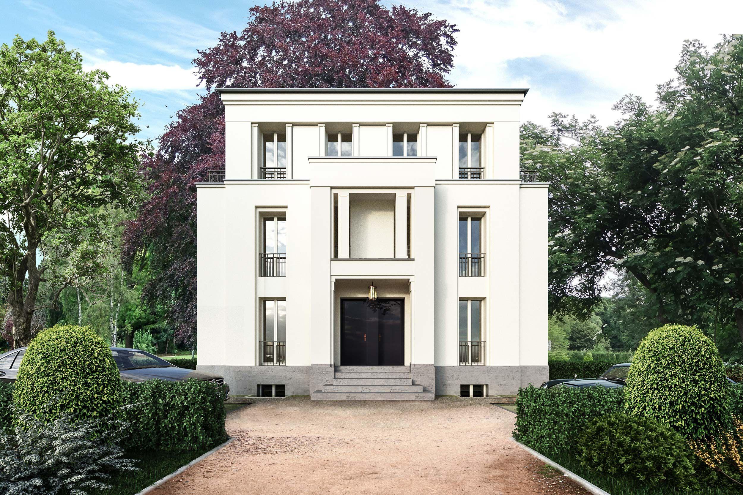 Klassische Stadtvilla moderne Eigentumswohnungen