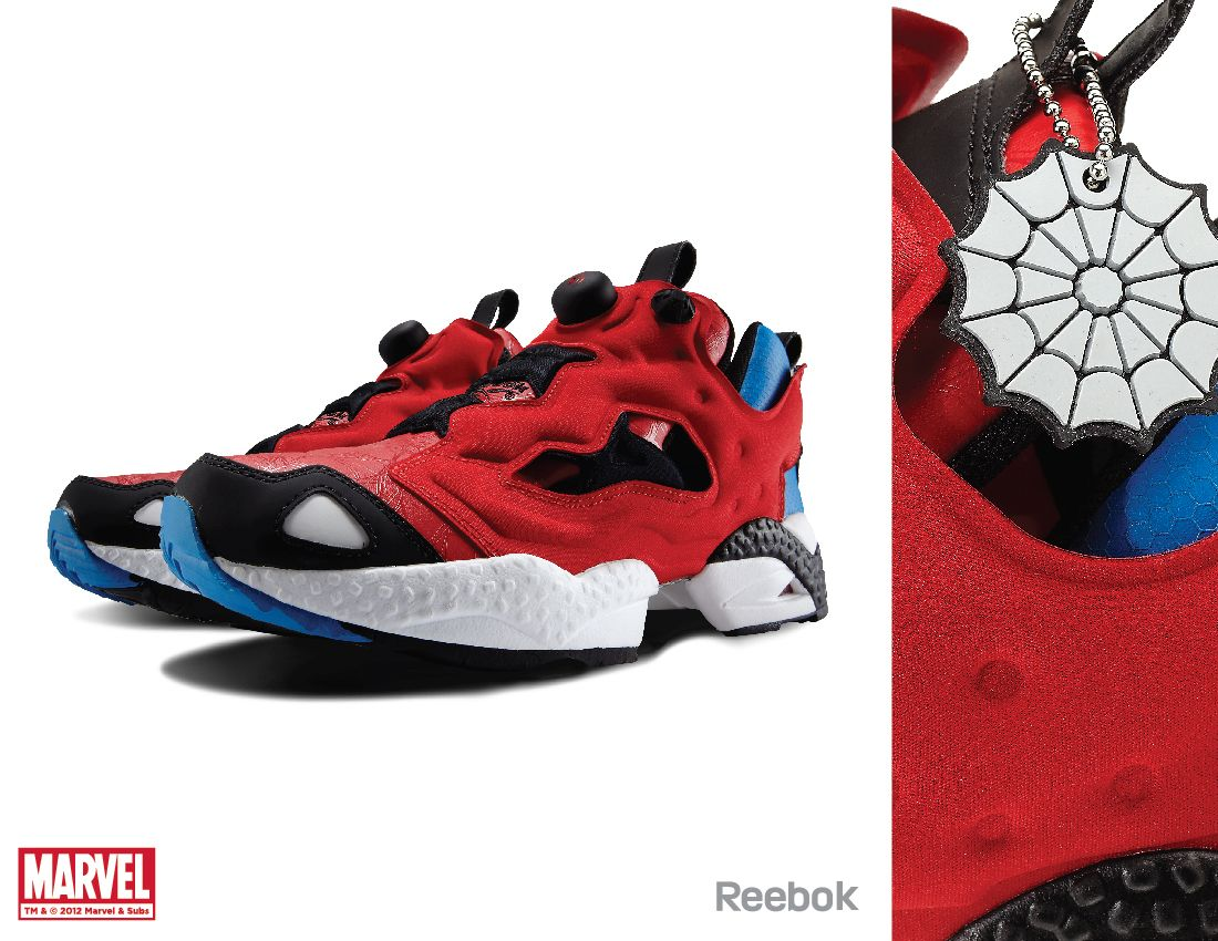 4ec6ebe8a94 Spider-Man Reebok X Marvel Officially Licensed Limited... - Anthony Petrie