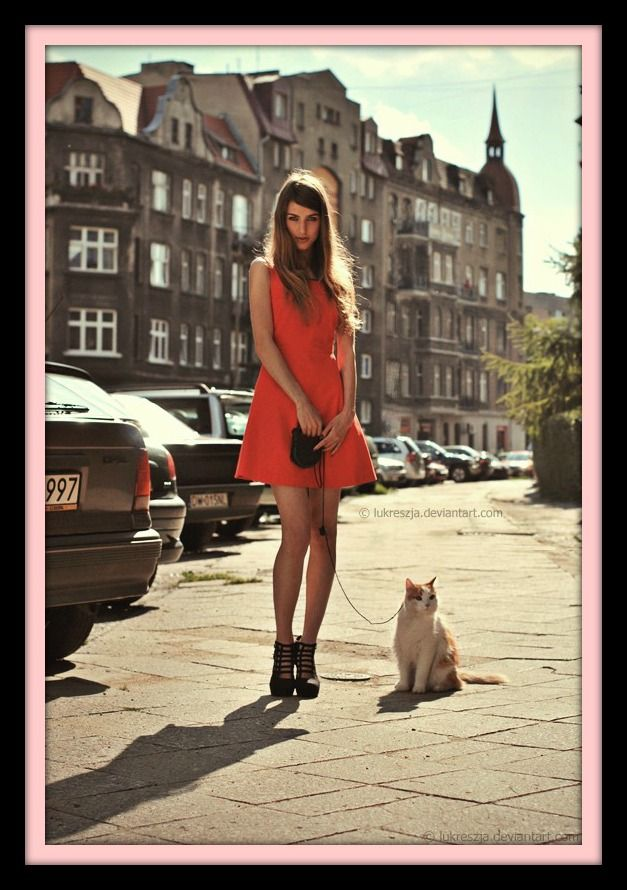 cat# on a leash!!!