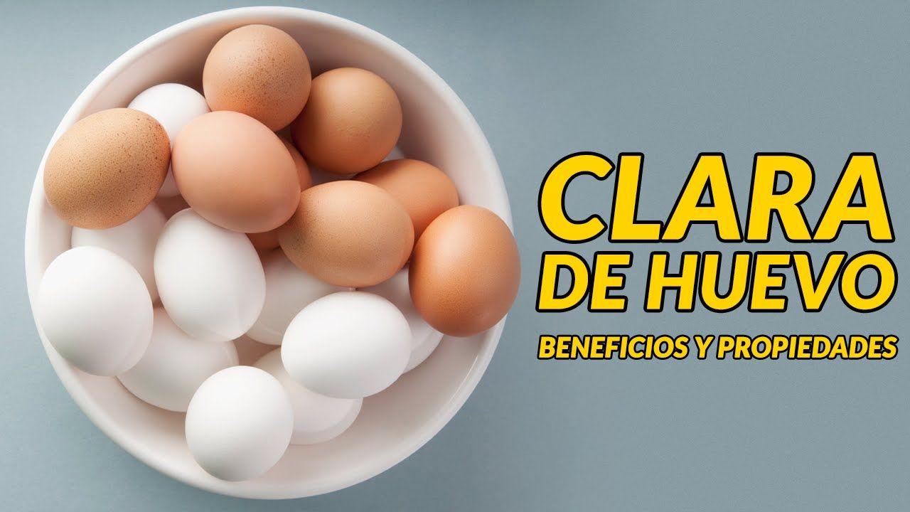 La clara de huevo: beneficios y propiedades
