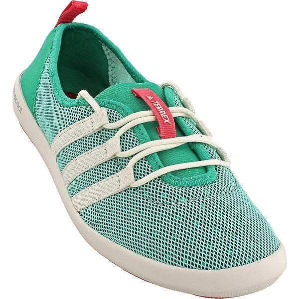 a110c4098beb3b adidas outdoor Terrex Climacool Boat Sleek Shoe 9.5 Core Green Chalk  White Tactile Pink