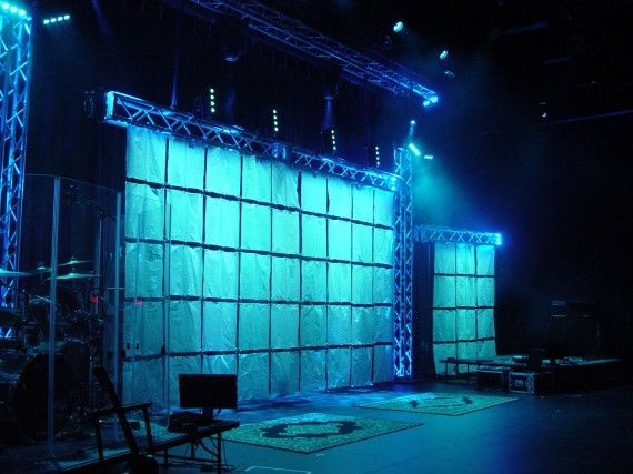 The Shower Curtain | Church Stage Design Ideas