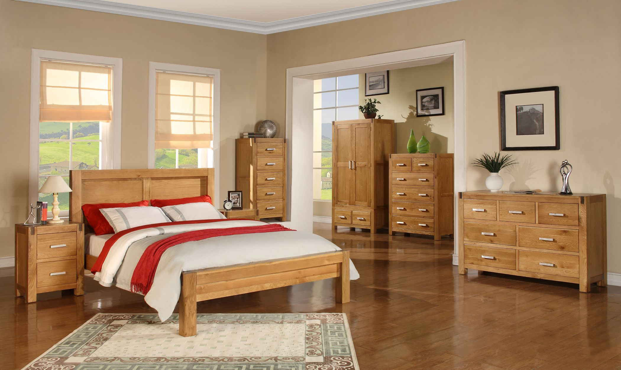 Bedroom Decorating Ideas With Pine Furniture oak bedroom furniture | bedroom furniture | pinterest | oak