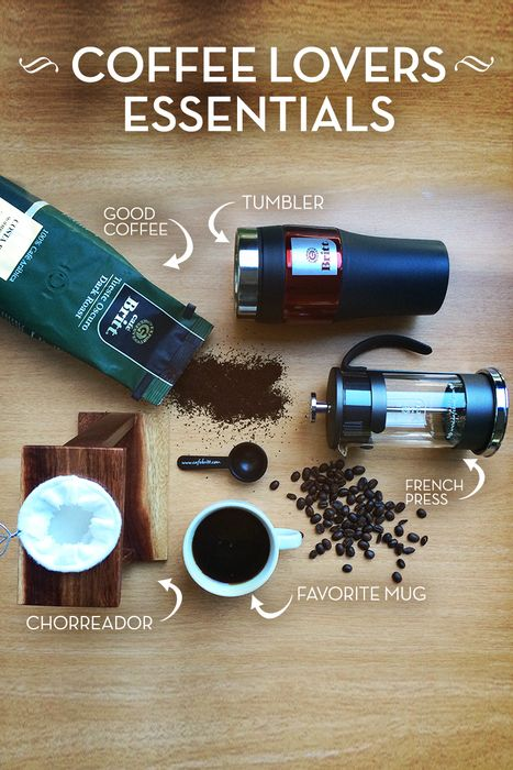 What is essential for you? Chorreador, french press, good coffee? | Coffee, Coffee lover