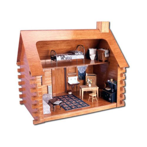Greenleaf Dollhouses Shadybrook Cabin Dollhouse